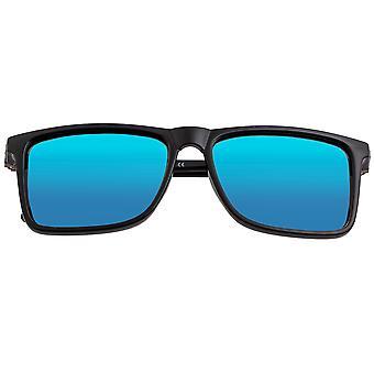 Breed Caelum Polarized Sunglasses - Black/Blue
