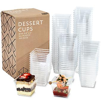 100-pack Mini Dessert Cups, 3oz.