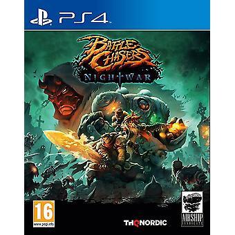 Slag bij Chasers Nightwar PS4 Video Game