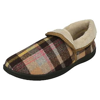 Ladies Padders Wide Fitting Slippers Mellow