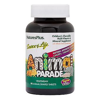Nature es Plus Source of Life Animal Parade Assorted Flavour Chewables 90 (29980)
