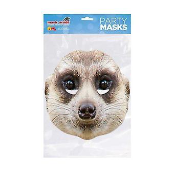 Meerkat Animal ansigtsmaske