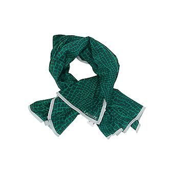 Women's Lacoste Green Scarves