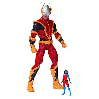 DC Comics Johnny Quick w / Atomica Forever Evil Action Figure