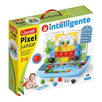 Quercetti Pixel Junior Starter Pegboard Set 58PC STEAM Toy Ages 2-5 Years