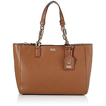 KARL LAGERFELD Brown woman shoulder bag