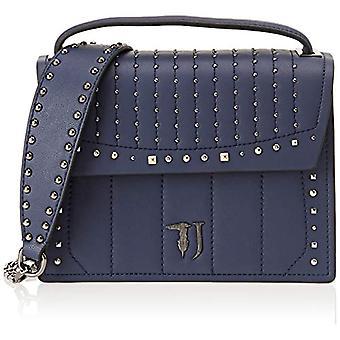 Trussardi Jeans 75B00510-9Y099999 Women's Hand Bag Blue 23x23x10 cm (W x H x L)