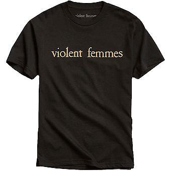 Gewalttätige Femmes Lachs Logo offizielle T-Shirt T-Shirt Herren Unisex