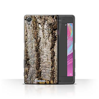 STUFF4 Case/Cover for Sony Xperia X Performance/Aged/Tree Bark