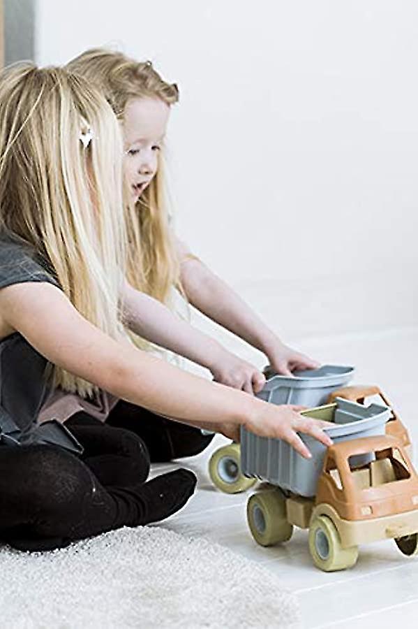 Dantoy Bio-Toy Tipper Truck, Eco-Conscious Toys aus Zuckerrohr