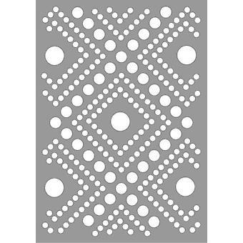 Pronty Mask stencil Dots Pattern 470.802.062 A5