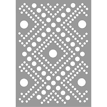 Pronty Máscara stencil Dots Padrão 470.802.062 A5