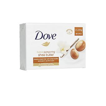 Dove Shea Burro Soap Bar 100g