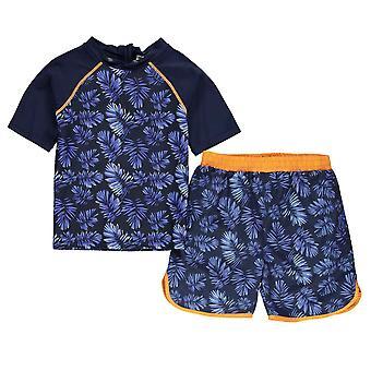 Vervaardigde Essentials Kids YB 2PC Sunsf Childs strand badpak