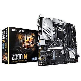 Emolevy Gigabyte Z390 M mATX DDR4 LGA1151 LED