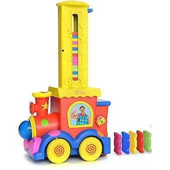 Mr Tumble's Domino Train with Colourful and Chunky Domino's For Ages 36 months+