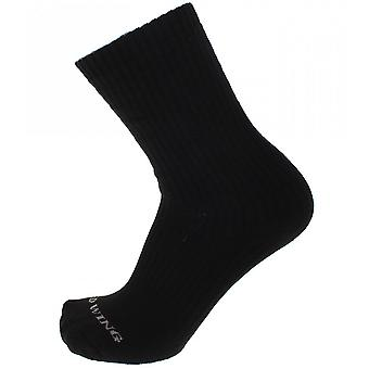 Red Wing Black Cotton Cushion Socks - 2 Pairs Gift Pack
