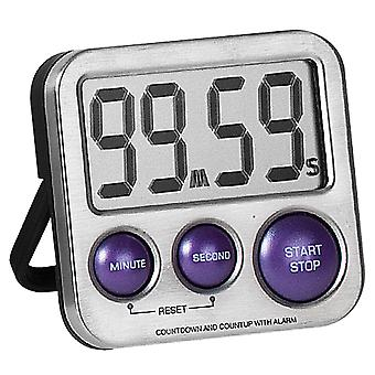 Atlanta 240/8 Short TimePiece Digital Metal com Magnet Kitchen Timer