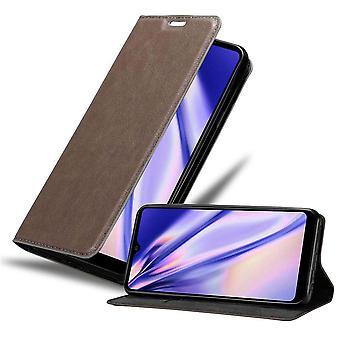 Futerał Cadorabo do obudowy LG K50s - etui na telefon komórkowy z magnetycznym zapięciem, funkcją stojaka i komorą na kartę - Obudowa ochronna Case Book Folding Style
