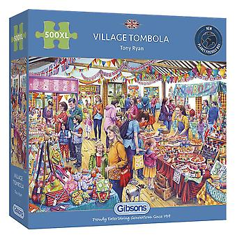 Gibsons Jigsaw Puzzle - Village Tombola, 500 XL Pieces