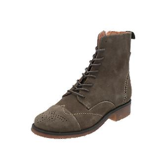 SPM Ally Women's Boots Green Lace-Up Boots Winter