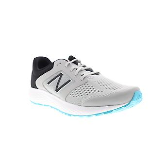 New Balance 520v5  Mens Gray Extra Wide Canvas Athletic Running Shoes