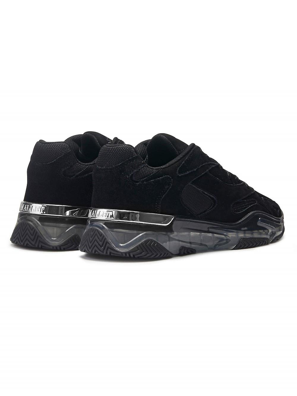 Mallet Lurus Clear Black Suede Sneaker