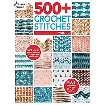 500+ Crochet Stitches with CD by Annie's Crochet - 9781640250994 Book