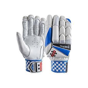 Grijze Nicolls Powerbow 6 Cricket Handschoenen