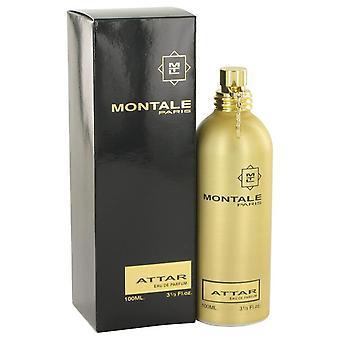Montale Attar Eau De Parfum Spray By Montale 3.3 oz Eau De Parfum Spray