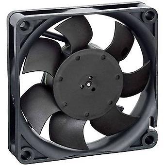 EBM Papst 712F/2L-005 Axial fan 12 V DC 26 m³/h (L x W x H) 15 x 70 x 70 mm