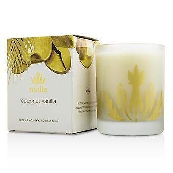 Malie Soy Candle - Coconut Vanilla 240ml/8oz