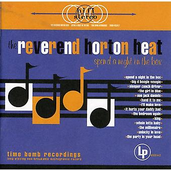 Reverend Horton Heat - Spend a Night in the Box [CD] USA import