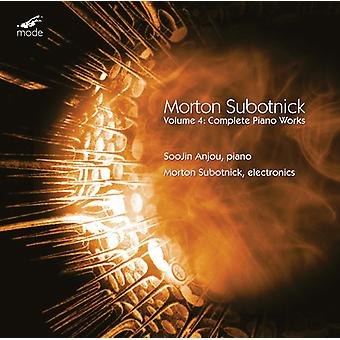 Subotnick / Anjou / Subotnick - Subotnick / Anjou / Subotnick: Complete Piano Works 4 [CD] USA import
