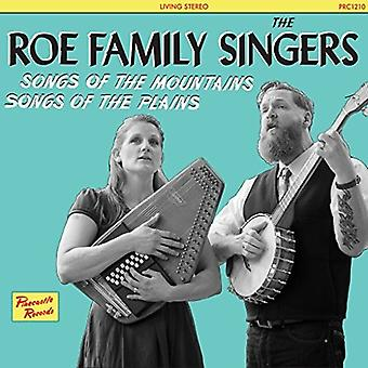 Roe Family Singers - Songs of the Mountains Songs of the Plains [CD] USA import