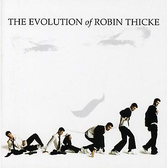 Robin Thicke - Evolution of Robin Thicke-Deluxe Edtion [CD] USA import