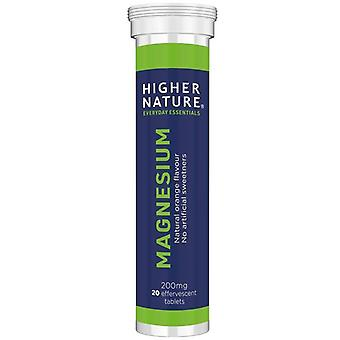 Higher Nature Magnesium Effervescent Tabs 20 (MAG020)