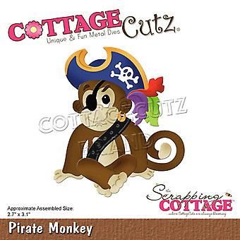 Scrapping Cottage Pirate Monkey
