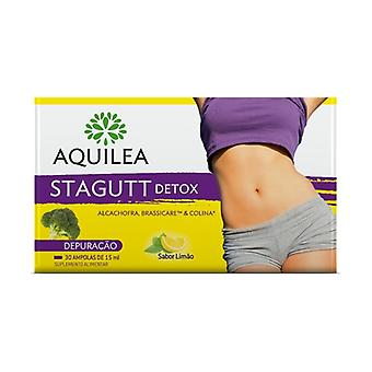 Aquilea Stagutt Detox 30 ampoules of 15ml