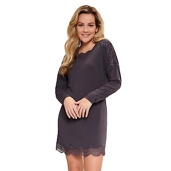 LingaDore Nine Iron Animal 5609-268 Nők's Iron Grey Nightdress