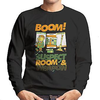Hasbro Cluedo Boom Sospechoso Habitación Hombres's Sudadera