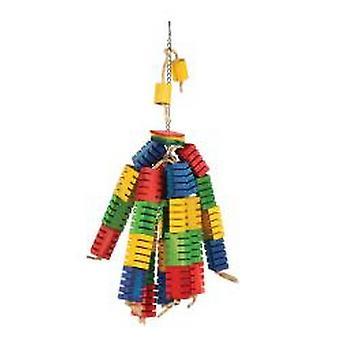 Szczęśliwy kolor Groovy pieścić bloki zabawka zwierzę