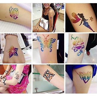 Flash Diamond Tattoo For Temporary Tattoo Kids Face Body, Painting Art Tools