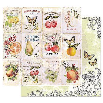 Prima Marketing Fruit Paradise 12x12 Inch Sheets Fruit Lover