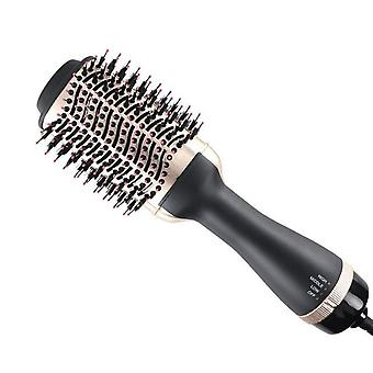 3 In 1 Hot Air Brush Professional - Blow Dryer Comb Curling Iron Hair