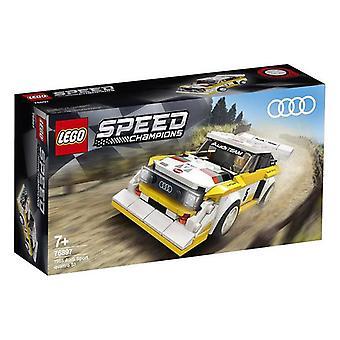 Playset Speed CHAMPIONS Audi Sport Quattro S1 Lego 76897