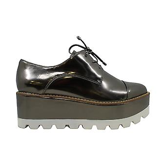 DKNY Uptown Oxford Flats Pewter 6M