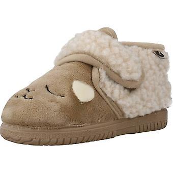 Victoria Zapatos Niña Hogar 105119  Color Beige