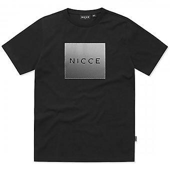 NICCE Nicce Rhombus Reflective Logo Black T-Shirt