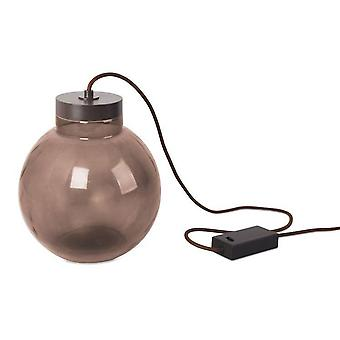 Leds-C4 Raw - Integrated LED Floor Lamp Rusty Brown